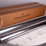 Bang and Olufsen Aluminium Speakers