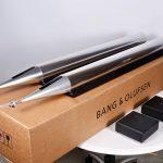 Bang and Olufsen Aluminum Speakers