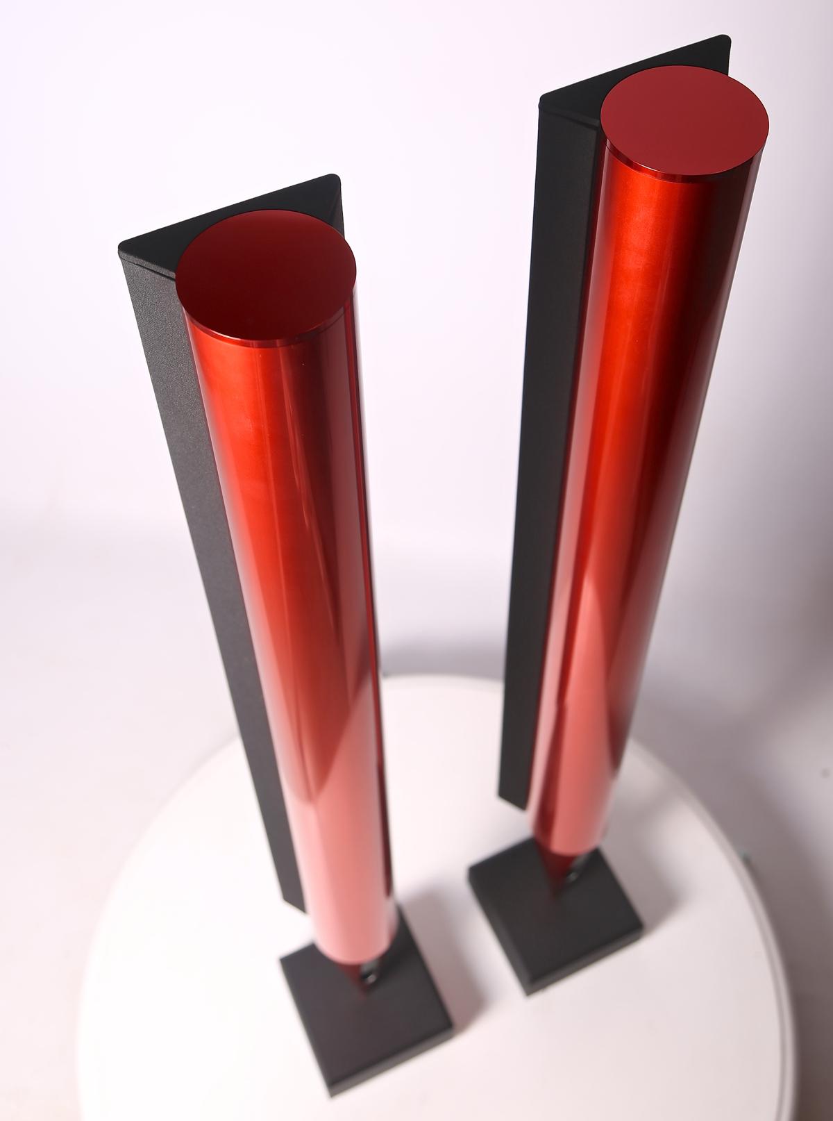 Bang & Olufsen Red Speakers