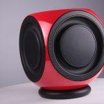 BeoLab 2 Subwoofer Ferrari Red Carbon Fiber