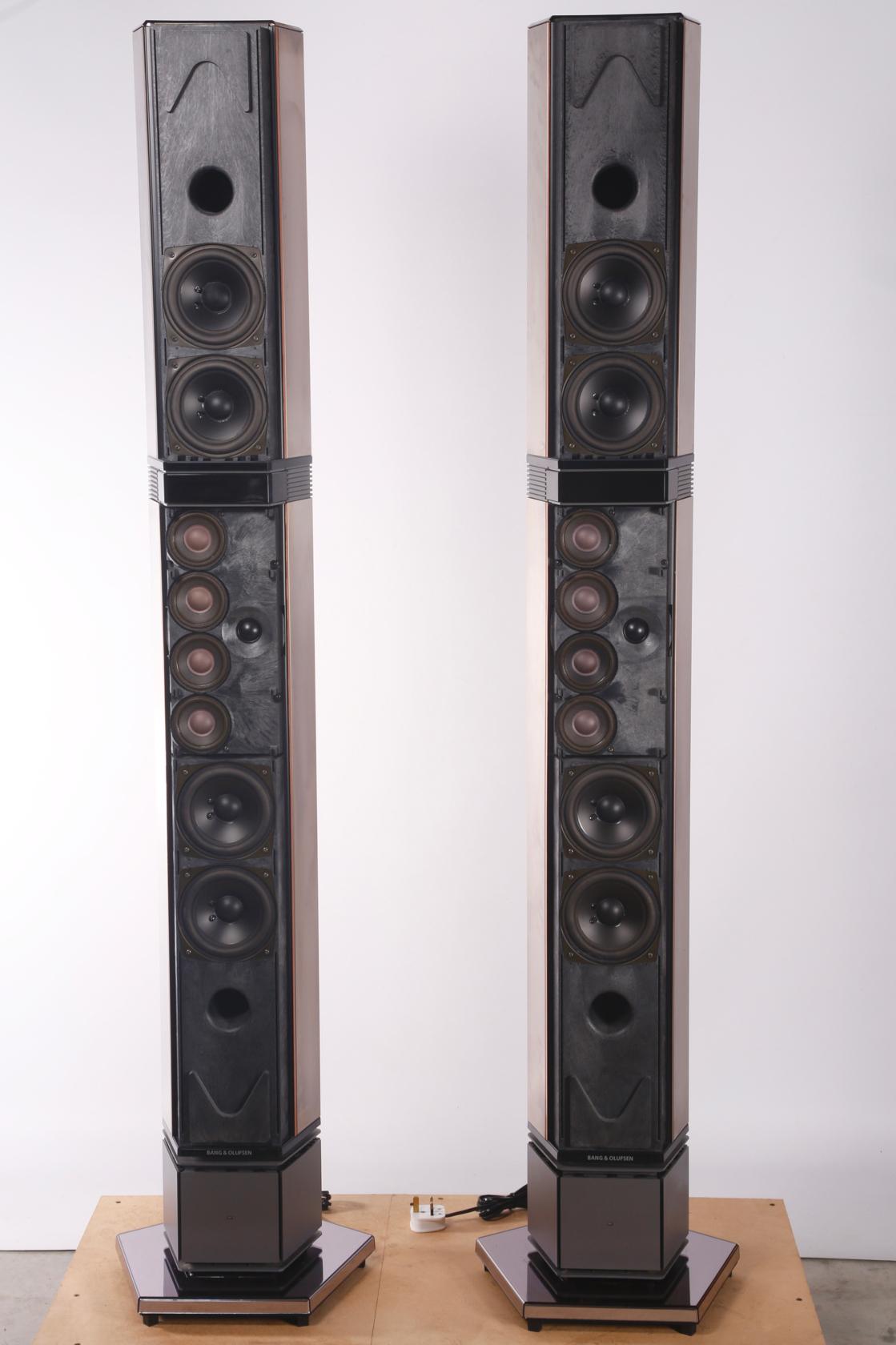 Bang and Olufsen Floor Standing Speakers
