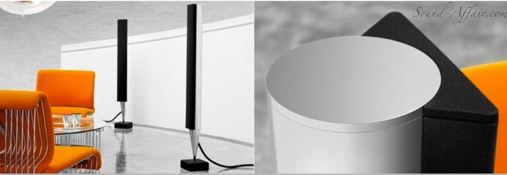 BeoLab 8000 Active Stereo Loudspeakers Mk2 - Alu / Black