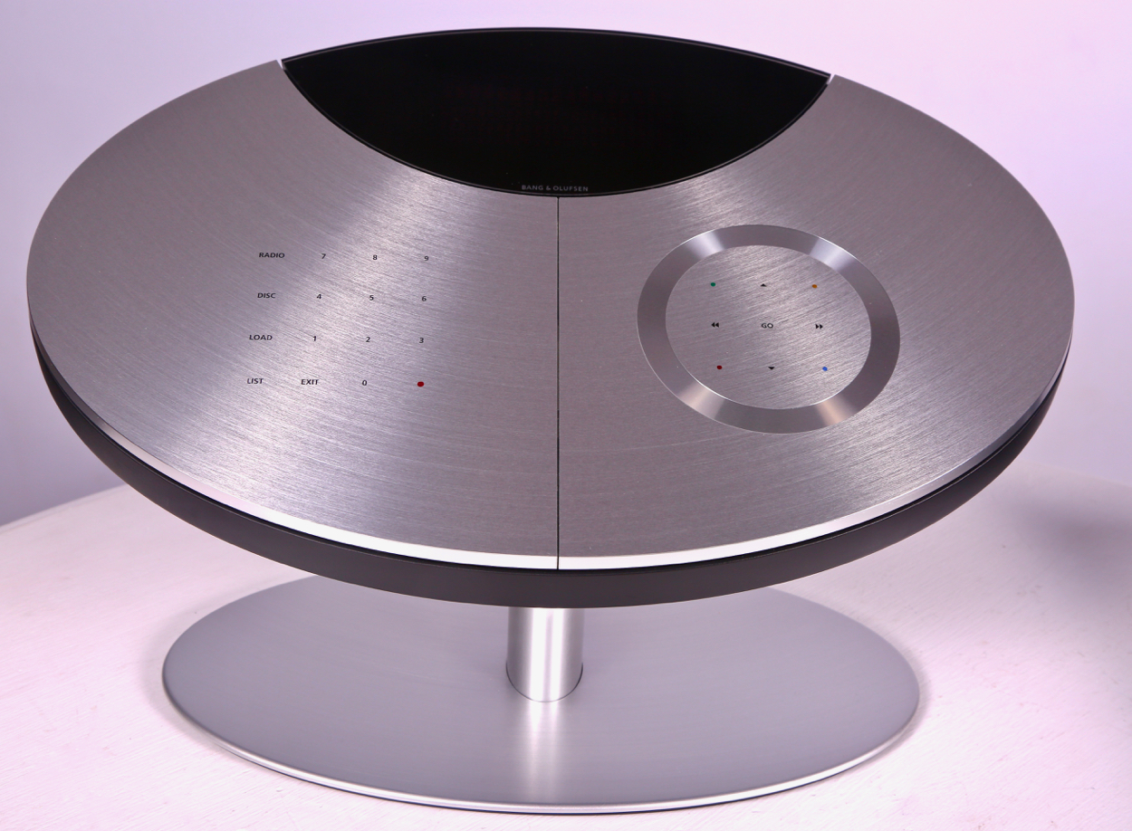 Bang and Olufsen Aluminum Music System