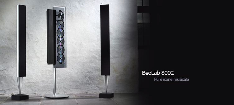 Bang Olufsen BeoLab 8002 - Black (2012)
