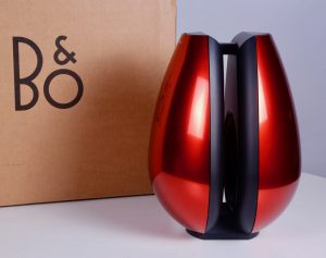 Bang and Olufsen Red Subwoofer