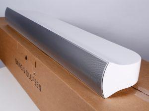 BeoLab 7.1 white TV speaker